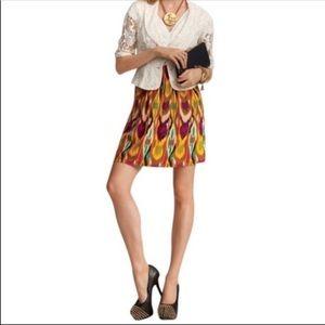 CAbi Multicolor Ikat Bella Skirt Style #359